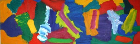 (No.4) untitled, 2007-11, 74x227cm