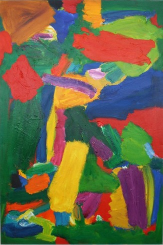 (No.7) Burning Bush, 2008-11, 170x115cm